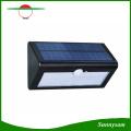 500lm sensor de movimento à prova d 'água 38 led solar rua luz ao ar livre jardim lampada solar jardim lâmpada de parede sconce