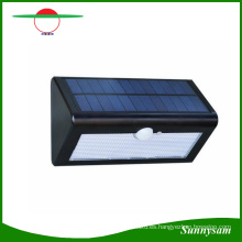 500lm sensor de movimiento impermeable 38 LED luz de calle solar al aire libre jardín Lampada Solar lámpara de pared aplique de pared