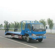 JAC 6tons camión de transporte de excavadoras