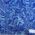 Waterfall Blue Printed Lining
