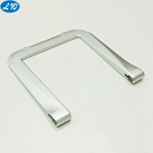 Metal fabrication machining anodized aluminum faceplate