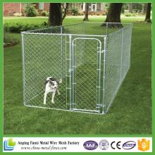 China fornecedor de alta qualidade melhor preço Galvanizado Cadeia Link Dog Canil Cerca