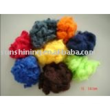 Polyester Staple Fibre Doped dyed
