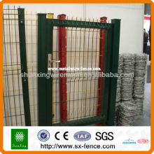 Conception de grille de grille revêtue en poudre, conception de grille de porte