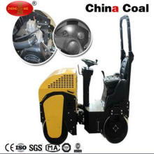 Ride on Dual Drum Heavy Vibratory Construction Compactor Road Roller