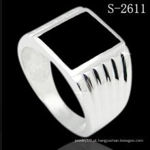 Jóia clássica da forma da prata esterlina do modelo 925