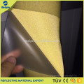Gold reflective fabric 100%Polyester