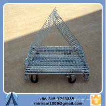 Stackable Hot Dip Galvanized Light Duty Wire Cage