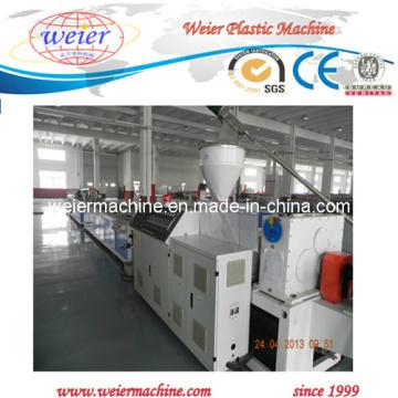 CE WPC / PE Painel de chão / Perfil Máquina de fabricação de plástico (SJSZ-65/132)