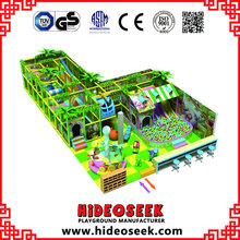 Hot Fun Jungle Indoor Playground with Ball Pool