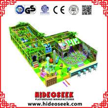 Playground Indoor quente da selva do divertimento com a associação da bola