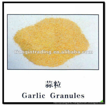 garlic granules 2012