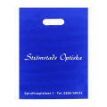 Deep Blue LDPE Die Cut Bag for Garment