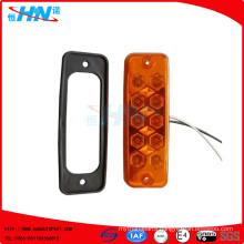 Amber 24V 10-LED Side Lamp