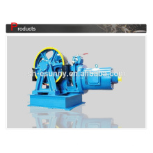 Customized manufacture geared elevator traction machine