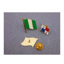 Banderas nacionales solapa Pin Banderas insignia (GZHY-LP-010)
