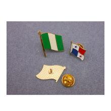 Национальные флаги значок pin отворотом флагов (GZHY-ЛП-010)