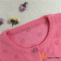 Fille pull Cardigan maille Pointelle