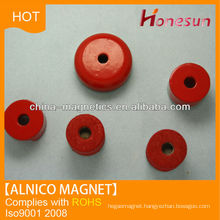 cast alnico ring monopole or Bipolar magnet for sale