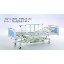 Cama de hospital hidráulica de cuatro funciones