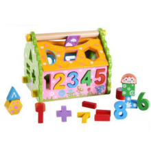 China Manufacturer for Wooden Toys For Kids Wooden Shape Sorter Number Recognition Toddler Toy supply to Finland Manufacturer