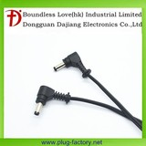 Right angle 4.0*1.7MM Male dc power cable