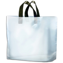 Custom Soft Loop Handle Plastic Bags
