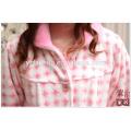 Coral Fleece aus Polyester Schlafanzug Anzug für Winter Homewear