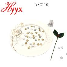 HYYX estrela de Natal mini estrela de árvore de natal / estrela de lantejoula forma enfeite de natal