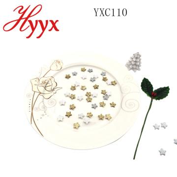HYYX Estrella de Navidad estrella del árbol de Navidad / forma de estrella de lentejuelas adornos de navidad