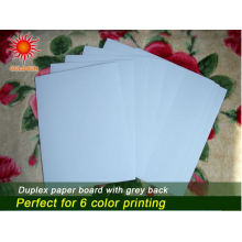 Waterproof Duplex Board with Grey for Printing