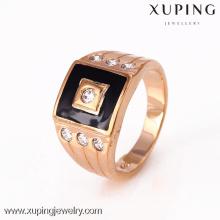 12301-Xuping 18k ouro moda homens anel para design exclusivo