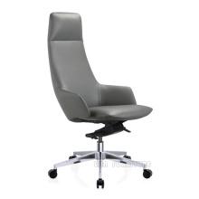Cadeira executiva moderna giratória de encosto alto para móveis de escritório