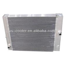 Fabricante profesional del ingeniero mecánico refrigerador de aceite intercambiador de calor / radiador de aceite hidráulico
