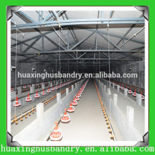automatic chicken broiler poultry farm house design equipment