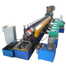 rollo de canal de acero metálico unistrut que forma la máquina