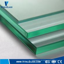 Vidro liso claro e vidro flutuante com CE & ISO9001