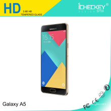Protecteur d'écran en gros HD 0.33mm 9H en verre trempé pour Samsung A5
