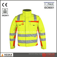 Hot Selling Safety Jacket with Reflective Tape High Visibility Jacket