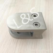 Fabrik SS304 Glasplatte Befestigung Arc Basisglas Klemme für 10 mm Glas