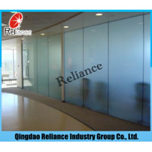 Acid Glass/Foggy Glass/Frosted Glass with Different Color