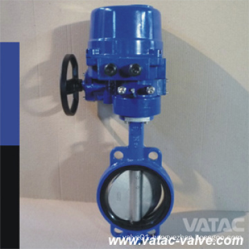 Al-Bronze C95800 Soft Seat Cast Grey Iron Wafer Butterfly Valve
