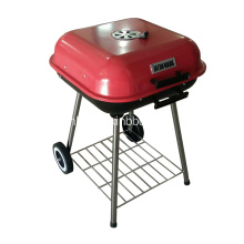 BBQ Charcoal Grill 18 Inch Vierkant