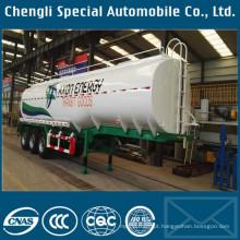 42000 ~ 45000liters óleo de caminhão-tanque, grande capacidade de combustível tanque reboque para venda