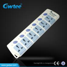 Сделано в Китае Универсальный водонепроницаемый шнур питания электрический выключатель питания полосы