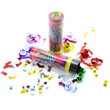 11cm Tall Twist Operated Birthday Party Confeti Cannon Popper Spring Popper Despacho rápido