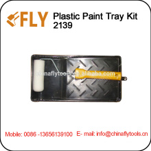 "4"" Plastic Paint Tray paint roller brush"