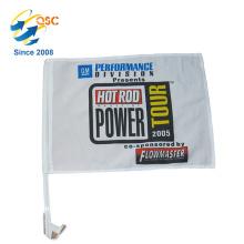 Haut de la page de voiture personnalisé drapeau drapeau de voiture promotionnelle