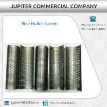 Zuverlässig und Export Qualität Reis Huller Bildschirm für Bulk Supply