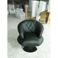 Black Leather Chair in Living Room (C001)